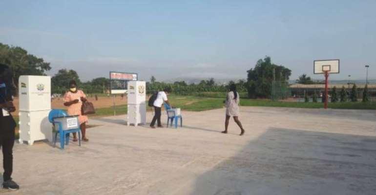 Special voting: 784 votes at Dome-Kwabenya Electoral Area