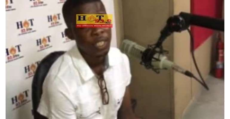 [Watch] Man Going Blind Over Locked-Up ¢82,000 Cash At Menzgold; Needs ¢4,000 For Surgery
