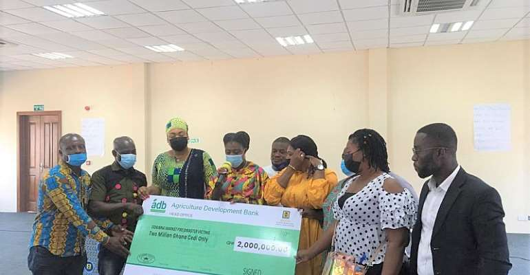 MASLOC announces GHC2 million support for about 3,000 traders affected by Odawna fire