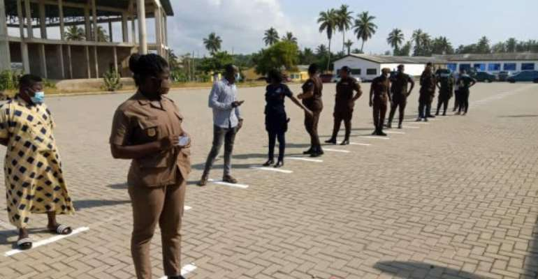 Special voting: Nine names absent at Police Staff College Centre at Winneba