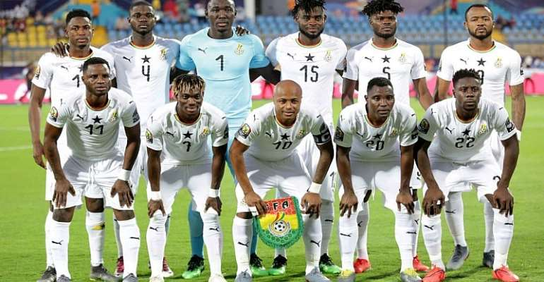 Ghana Drawn In Group G Of Africa WC Qualifiers; Set To Face South Africa