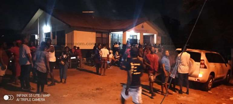 NDC supporters storm police station over arrest of Tema East PC