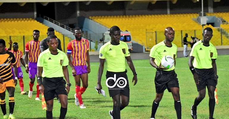 Ghana FA Announce Names Of Referees Selected To Officiate GPL Matchday 4 Games