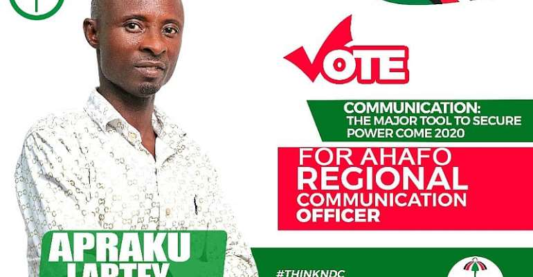 Embarrasing Bossman Doesn't Fit To Be At The EC - Ahafo Communication Officer