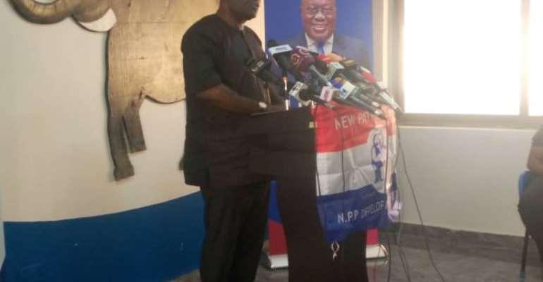 NPP ask Mahama to tell Ghanaians how he intend to correct his mistakes
