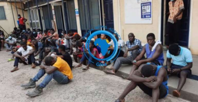 105 persons arrested in Tema for not wearing face mask