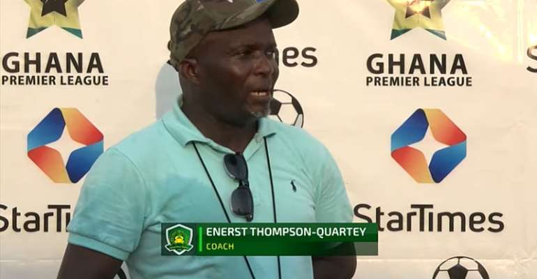Coach Ernest Thompson: There are a lot of loopholes in the Kotoko team