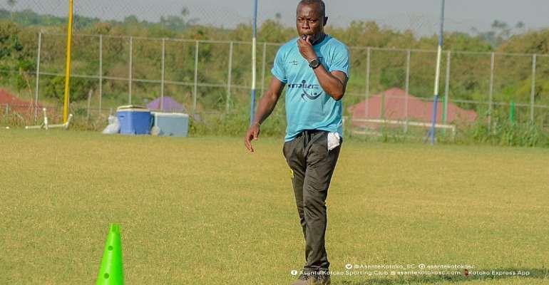 Asante Kotoko interim head coach Johnson Smith