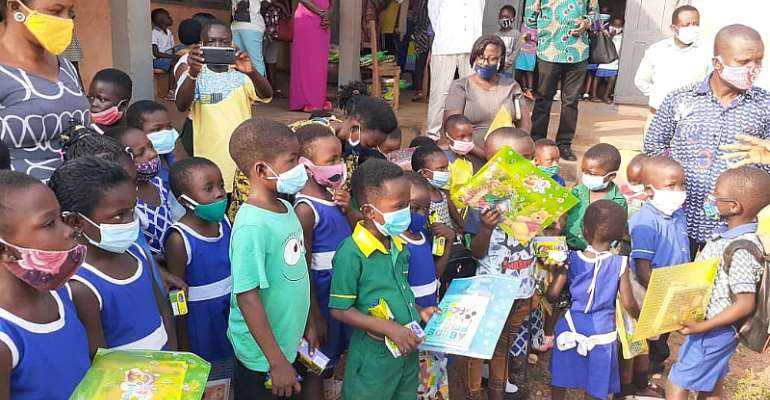 Tano North Municipal Educational Director embarks on back to school campaign