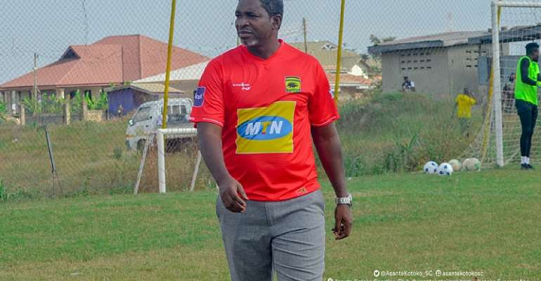 Exercise Patience For Maxwell Konadu - Coach Kwesi Appiah Implores Kotoko Supporters