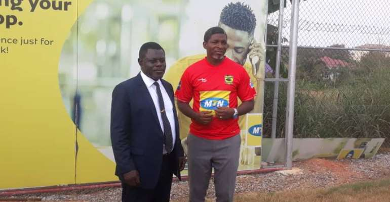 Maxwell Konadu To Introduce Player Scout To Kotoko Technical Staff
