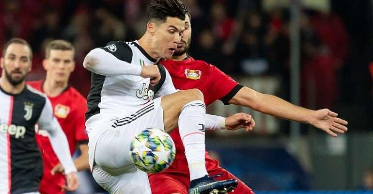 UCL: Ronaldo And Higuain On Target As Juve Sink Leverkusen