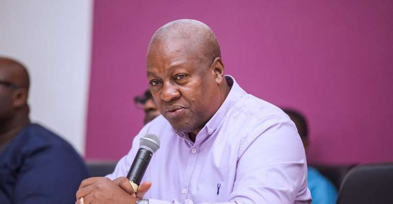 Withdrawal Bill On MMDCE Election Was Needless – Mahama