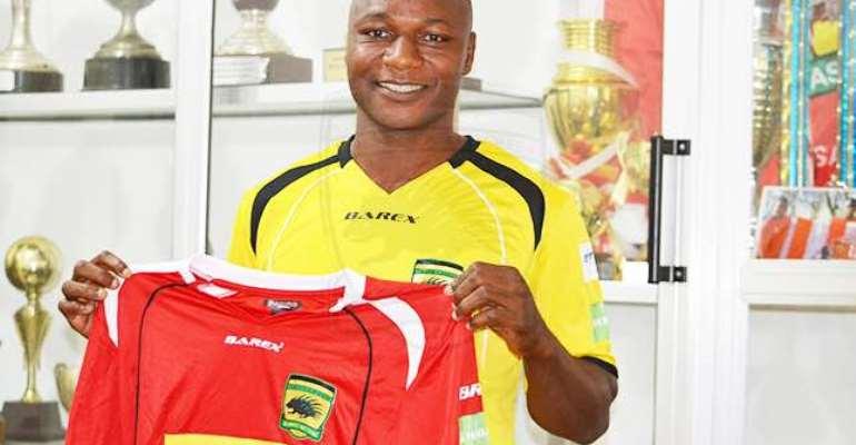 Wahab Adams Signs Contract Extension With Asante Kotoko