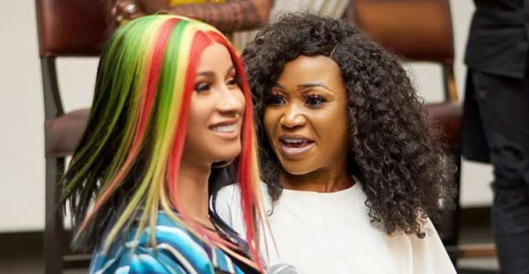Video: It was God grace that made me to see Cardi B – Akuapem Poloo