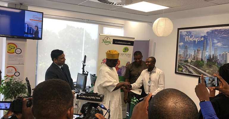 Centre For Nigerian Citizenship Identification Opens In Accra