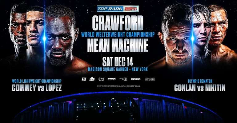 Crawford And Mean Machine Headline Saturday's MSG Extravaganza