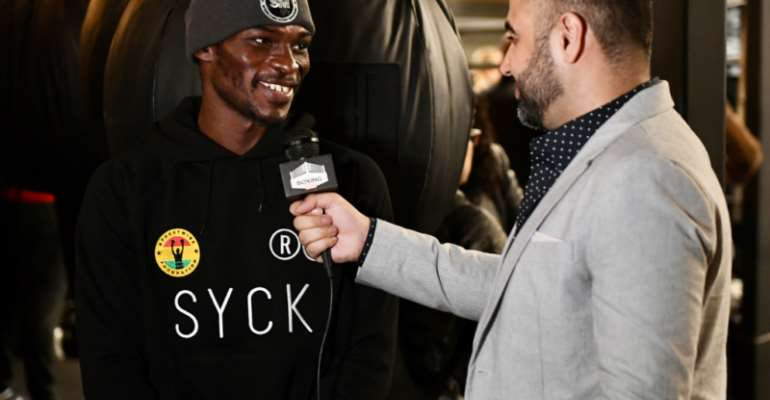 Richard Commey Optimistic Of Defending His Title Against Teofimo Lopez