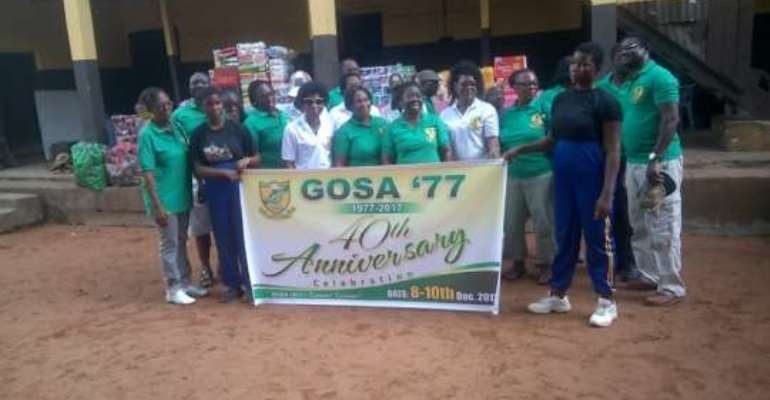 1977 Year Group Of Ghanata Supports Rising Star Orphanage