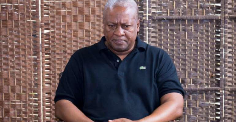 Former PresidentJohn Dramani Mahama