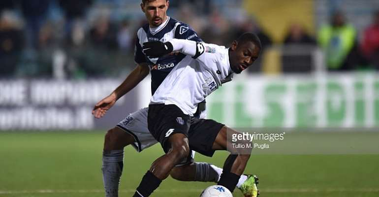 Ghanaian Defender Isaac Donkor On Target For Cesena In 4-2 Win Over Pescara