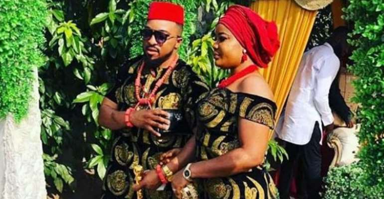 Nollywood Actor, Collins Ejike Weds Long Time Lover