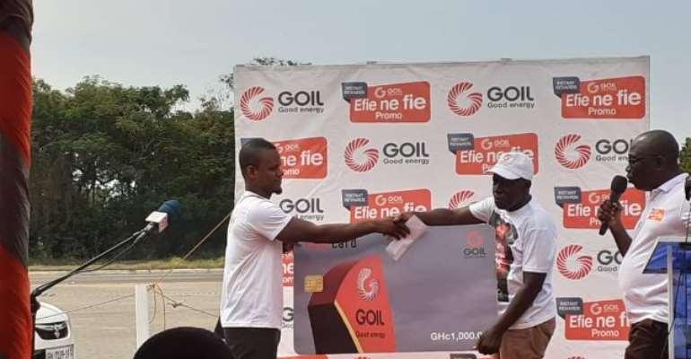 Goil Rewards Over 900 Loyal Customers