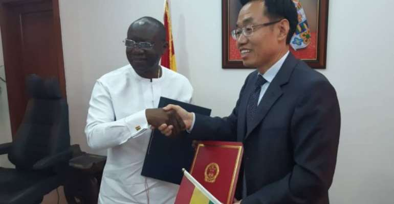 Ghana, China Sign $42.62million Grant Deal