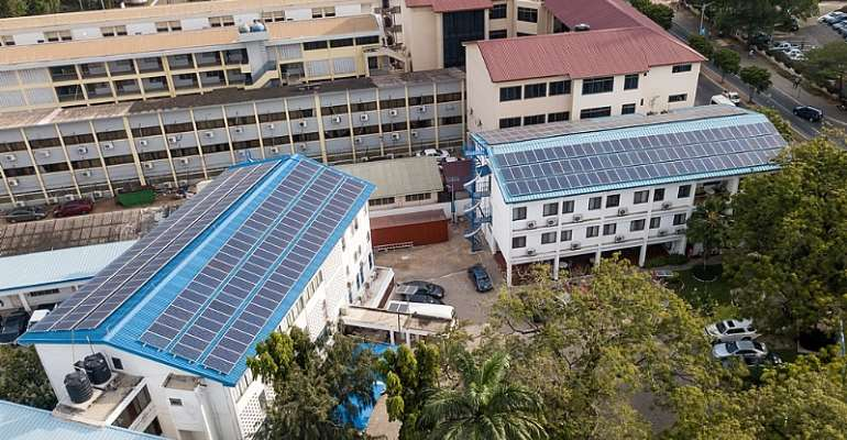 Ghana Post Gets 105KW Solar Energy System