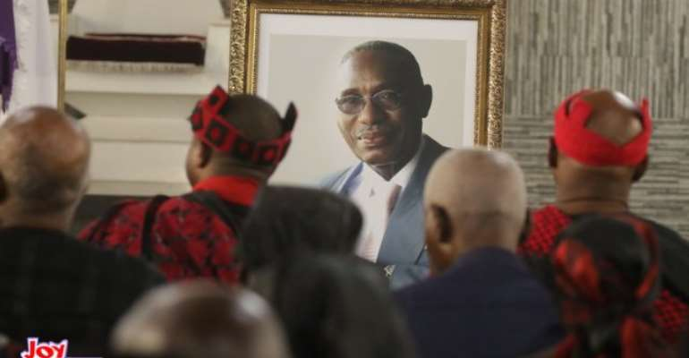 Photos: Pre-burial service for late Cyril Acolatse