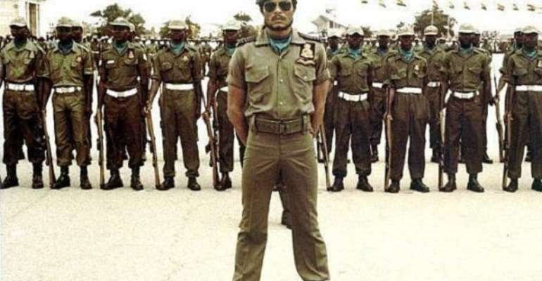 Jerry John Rawlings led the 31st December Revolution in 1981.