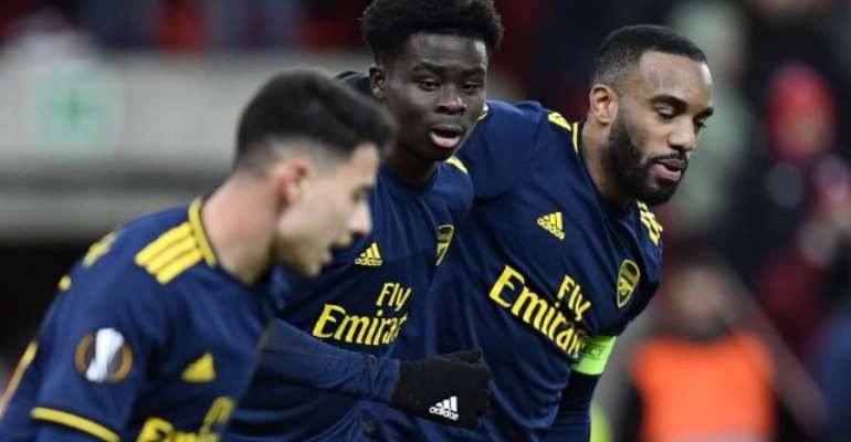 Europa League: Arsenal Fight Back To Reach Last 32 As Group Winners