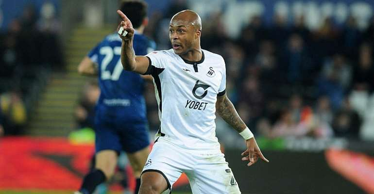 Swansea City Boss Impressed With Andre Ayew's Positive Influence