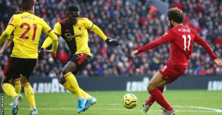 PL: Salah Double Seals Liverpool Win Over Watford