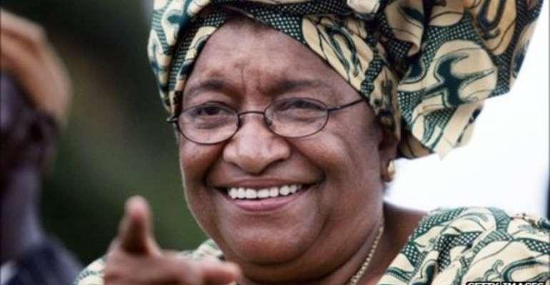 Former President Ellen Johnson-Seirleif