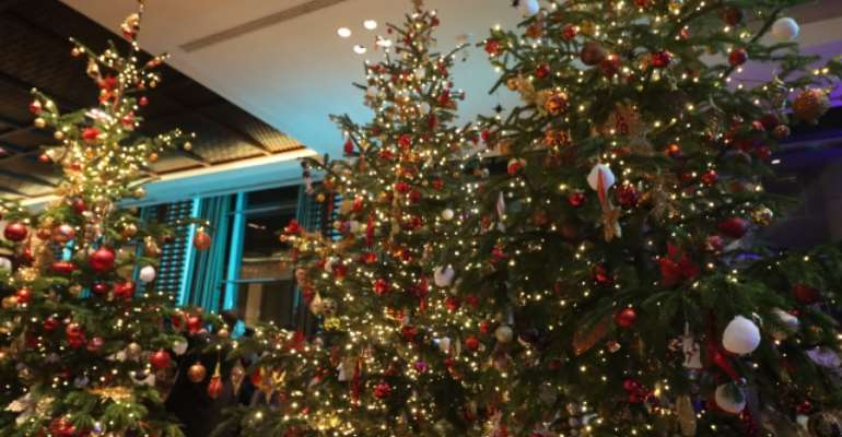 Keep Christmas Lights Away From Combustible Materials - Fire Service Warns