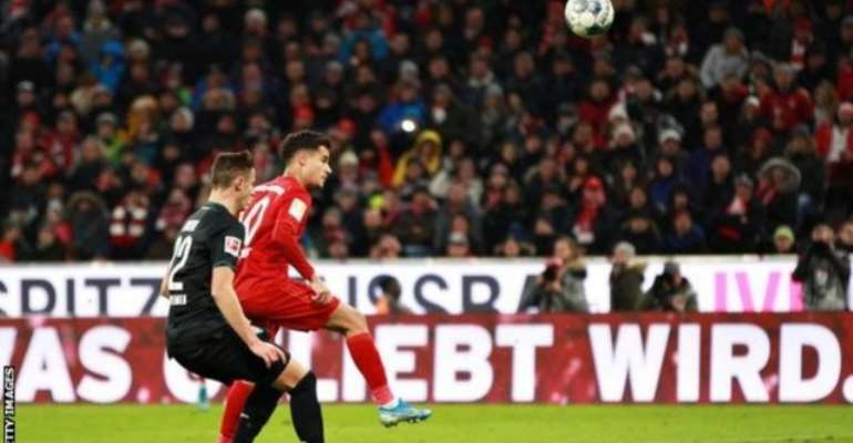 Bundesliga: Coutinho Scores Hat-Trick As Bayern Put Six Past Bremen