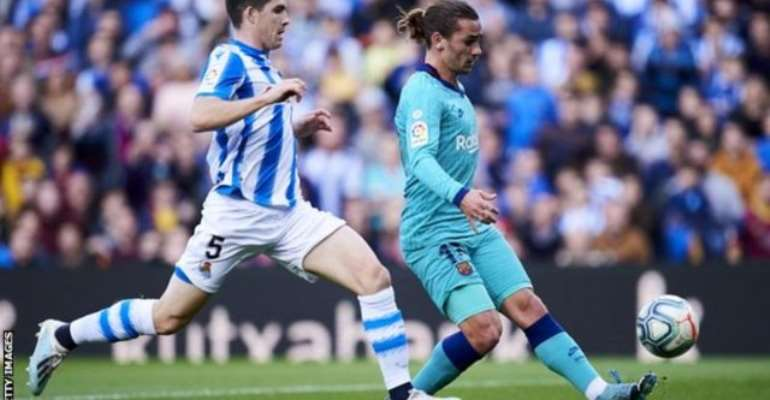 La Liga: Barcelona Draw At Real Sociedad In ntertaining Game