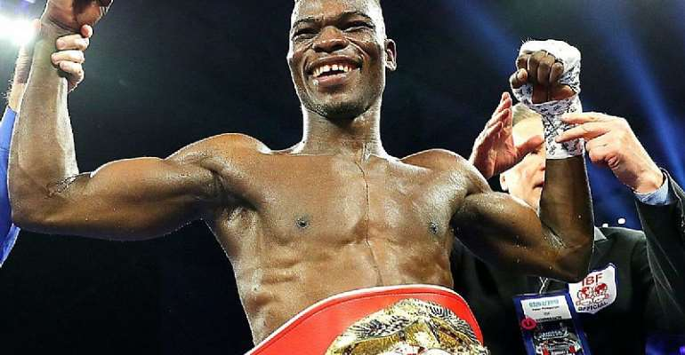 Nana Akufo-Addo Urges Richard Commey To Win IBF Title Today