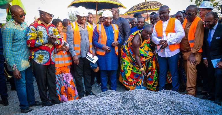 There Is Some Good News For Kumasi Roads--Bawumia