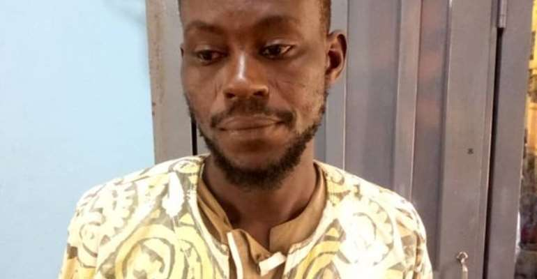 SuspectLukeman Sanchi allegedly raped the pregnant woman while she was pasturing her animals in the fields