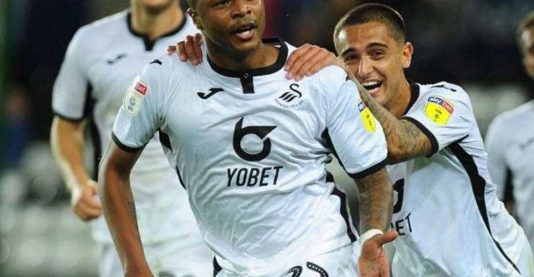 Ayew Scores Twice To Inspire Swansea To Victory Over Middlesbrough
