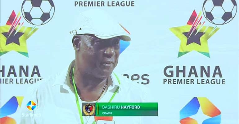 Coach Bashir Hayford hopes Kotoko defeat will be a turning point for Legon Cities FC