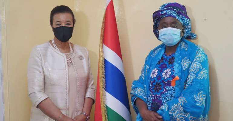 The Gambia announces plans to launch national 'NO MORE' campaign against domestic violence