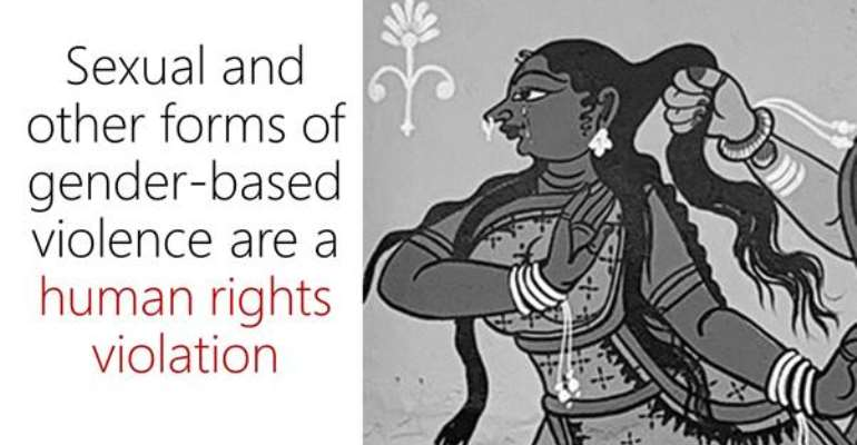 Ending gender-based violence is a human rights imperative