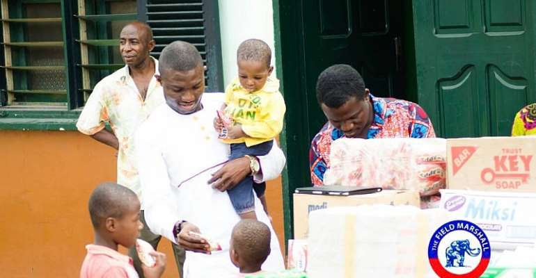 NPP Deputy National Youth Organizer, Dominic Eduah Donates To The Orphanage