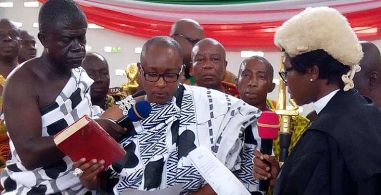 Omanhene Of Kwahu Joins House Of Chiefs