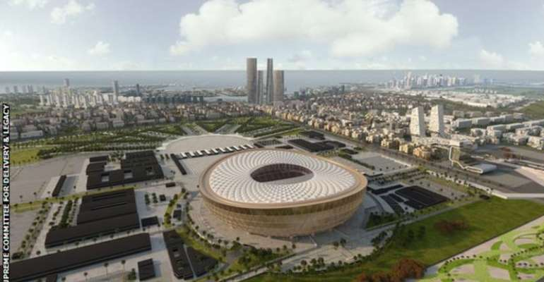 Qatar 2022 World Cup: Tournament Organisers Unveil Designs For Lusail Stadium