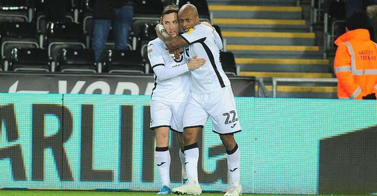 Andre Ayew Challenges Swansea City Teammates To Build On Win Over Middlesbrough