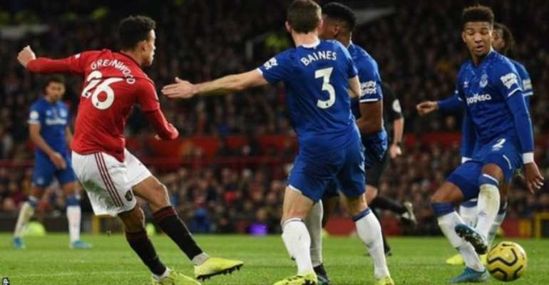 PL: Greenwood Salvages Draw For Man Utd Against Everton